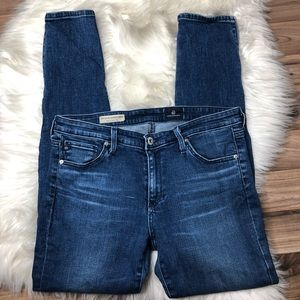 Ag Adriano Goldschmied Jeans - AG Zip Up Legging Ankle Skinny Jean